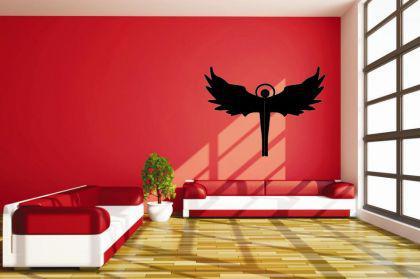 wandtattoo engel kaufen bei. Black Bedroom Furniture Sets. Home Design Ideas