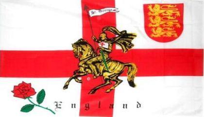 Flagge Fahne England Ritter 90 x 150 cm - Vorschau