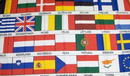 Flagge Fahne Europa 27 Länder 90 x 150 cm