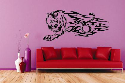 wandtattoo tiger g nstig sicher kaufen bei yatego. Black Bedroom Furniture Sets. Home Design Ideas