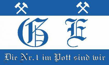 Flagge Fahne Gelsenkirchen Nr. 1 90 x 150 cm