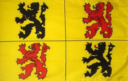 Flagge Fahne Hainaut 90 x 150 cm - Vorschau