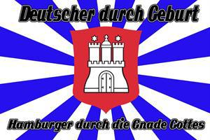 Flagge Fahne Hamburger Gnade Gottes 90 x 150 cm - Vorschau