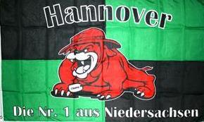 Flagge Fahne Hannover Bulldogge 90 x 150 cm - Vorschau