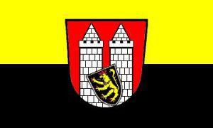 Flagge Fahne Hof 90 x 150 cm - Vorschau
