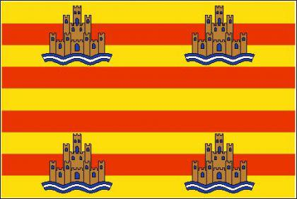 Flagge Fahne Ibiza 90 x 150 cm - Vorschau