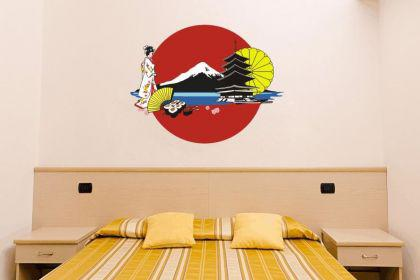 Wandtattoo Japan Impressionen