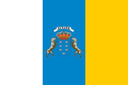 Flagge Fahne Kanaren 90 x 150 cm - Vorschau