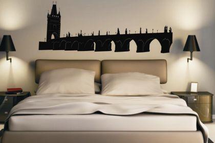 wandtattoo karlsbr cke in prag kaufen bei. Black Bedroom Furniture Sets. Home Design Ideas