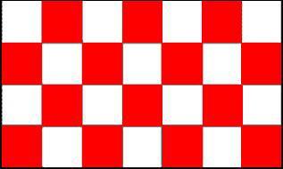 Flagge Fahne Karoflagge rot weiß 90 x 150 cm - Vorschau