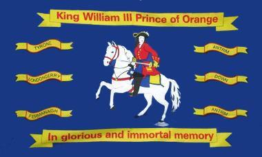 Flagge Fahne King William of Orange 90 x 150 cm - Vorschau