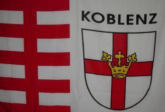 Flagge Fahne Koblenz 90 x 150 cm - Vorschau