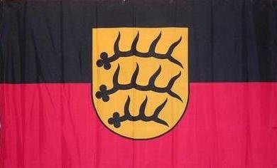 Flagge Fahne Königreich Württemberg 90 x 150 cm - Vorschau