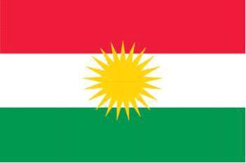 Flagge Fahne Kudistan 90 x 150 cm - Vorschau