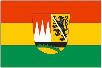Flagge Fahne Landkreis Hassberge 90 x 150 cm - Vorschau