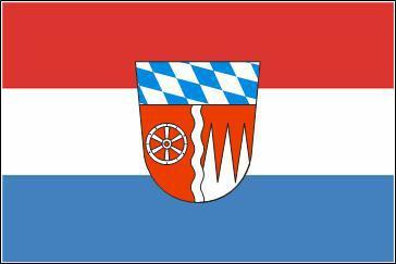 Flagge Fahne Landkreis Miltenberg 90 x 150 cm - Vorschau