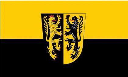 Flagge Fahne Landkreis Mühldorf / Inn 90 x 150 cm - Vorschau