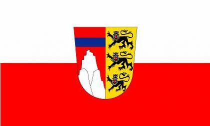 Flagge Fahne Landkreis Oberallgäu 90 x 150 cm - Vorschau