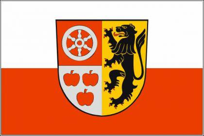 Flagge Fahne Landkreis Weimarer Land 90 x 150 cm - Vorschau