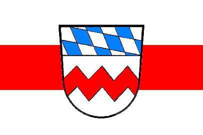 Flagge Fahne Landkreid Dachau 90 x 150 cm - Vorschau