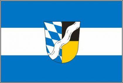 Flagge Fahne Landkreis München 90 x 150 cm - Vorschau