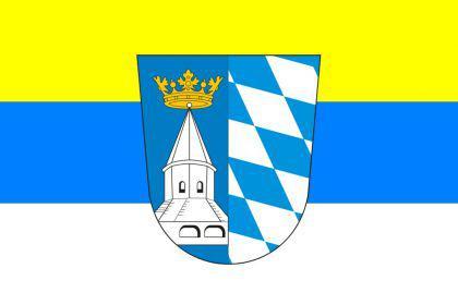 Flagge Fahne Landkreis Altötting 90 x 150 cm - Vorschau