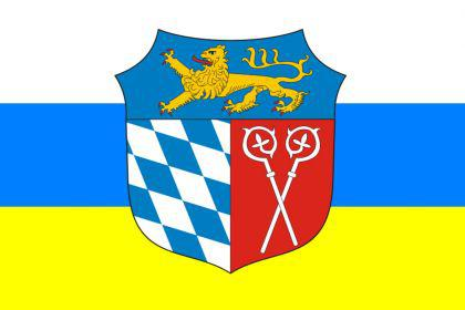 Flagge Fahne Landkreis Bad Tölz 90 x 150 cm - Vorschau