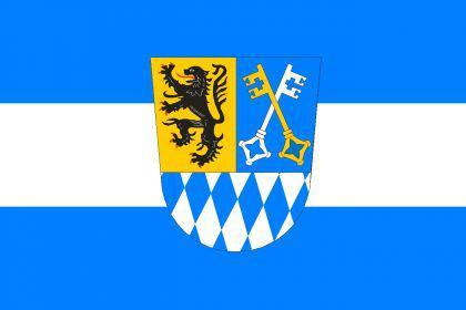 Flagge Fahne Berchtesgadener Land 90 x 150 cm - Vorschau