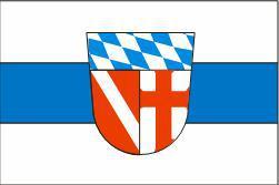Flagge Fahne Landkreis Regensburg 90 x 150 cm - Vorschau