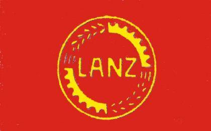 Flagge Fahne Lanz Bulldog Emblem 90 x 150 cm
