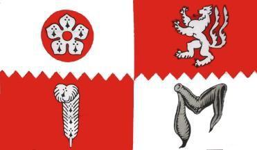 Flagge Fahne Leicestershire 90 x 150 cm - Vorschau