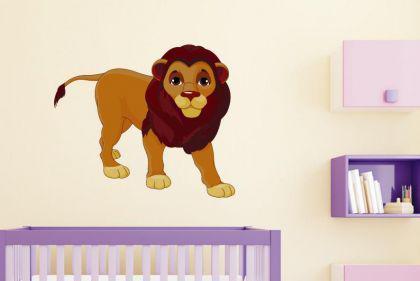 Wandtattoo Löwen Papa