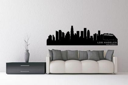 Wandtattoo Los Angeles Skyline