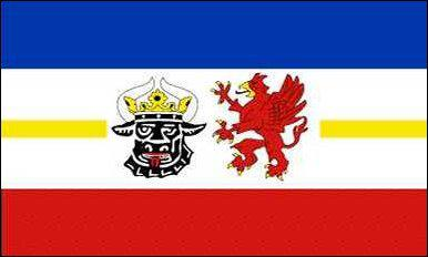 Flagge Fahne Mecklenburg-Vorpommern 90 x 150 cm - Vorschau
