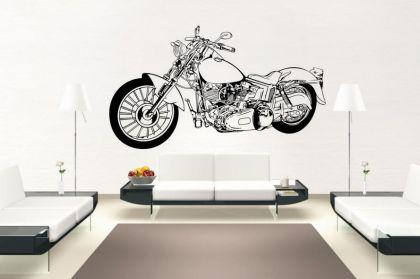 Wandtattoo Motorrad Motiv Nr. 4