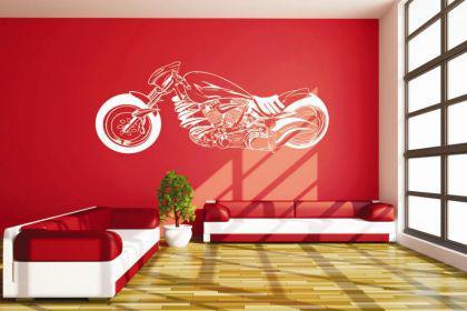 Wandtattoo Motorrad Motiv Nr. 5