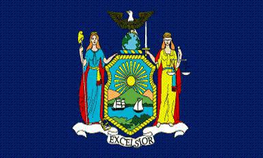 Flagge Fahne New York 90 x 150 cm - Vorschau