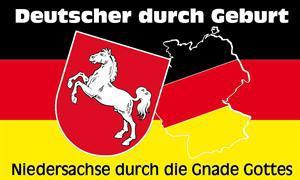 Flagge Fahne Niedersachse Gnade Gottes 90 x 150 cm - Vorschau