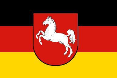 Flagge Fahne Niedersachsen 90 x 150 cm - Vorschau