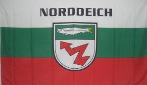 Flagge Fahne Norddeich 90 x 150 cm - Vorschau