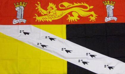 Flagge Fahne Grafschaft Norfolk 90 x 150 cm - Vorschau