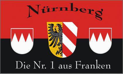 Flagge Fahne Nürnberg Nr. 1 90 x 150 cm - Vorschau