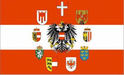 Flagge Fahne Österreich 9 Bundesländer 90 x 150 cm
