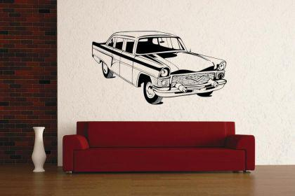 Wandtattoo Old Sedan Car