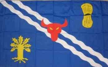 Flagge Fahne Oxfordshire 90 x 150 cm - Vorschau