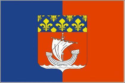 Flagge Fahne Paris 90 x 150 cm - Vorschau