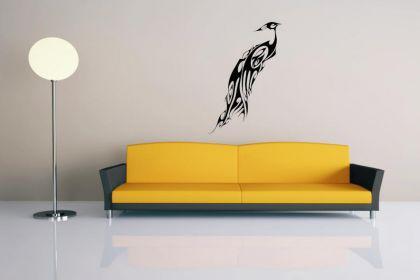 wandtattoo pfau kaufen bei. Black Bedroom Furniture Sets. Home Design Ideas