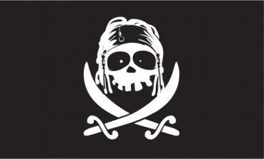 Flagge Fahne Pirat Jack Black 90 x 150 cm