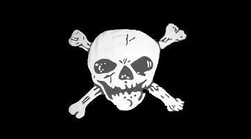 Flagge Fahne Pirat Skull Bones 90 x 150 cm