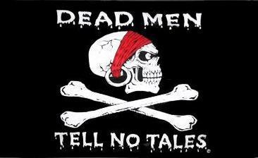 Flagge Fahne Pirat Dead man 90 x 150 cm
